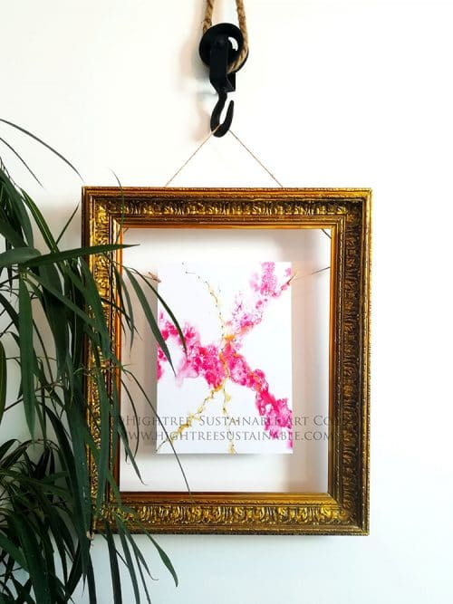 Movement art print framed by Hightree® Sustainable Art Co.