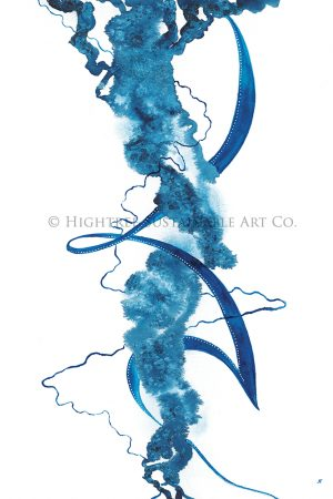 Edge sustainable art print, webshop image, copyright Hightree Sustainable Art Co.