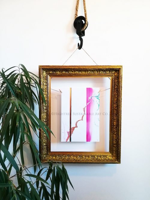 Growth Sustainable Art Print Framed - © Hightree Sustainable Art Co. 2019