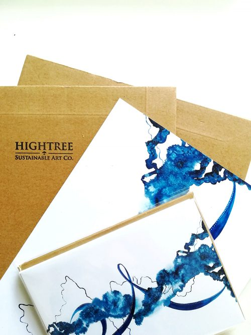Edge Art Print & Postcard by Hightree® Sustainable Art Co.