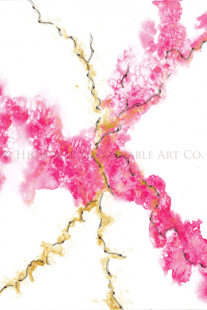 Movement sustainable art print, webshop image, copyright Hightree Sustainable Art Co.