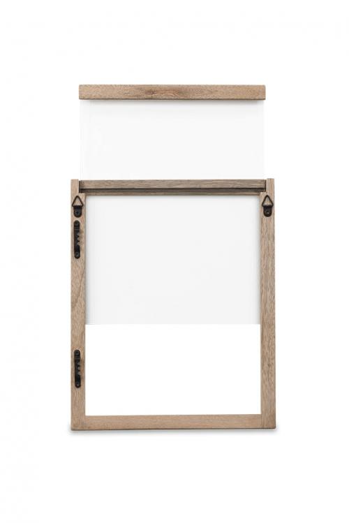 Indu Mango Houten Frame achterzijde - Hightree Sustainable Art Co.