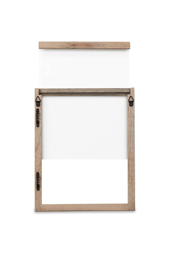 Indu Mango Wooden Frame backside