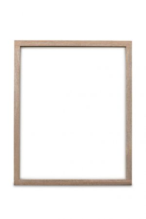 Sustainable and fair mango wood frames front view - Hightree Sustainable Art Co.